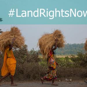 #LandRightsNow