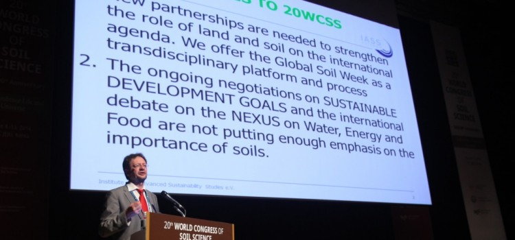 IUSS a new partner for the GSW 2015