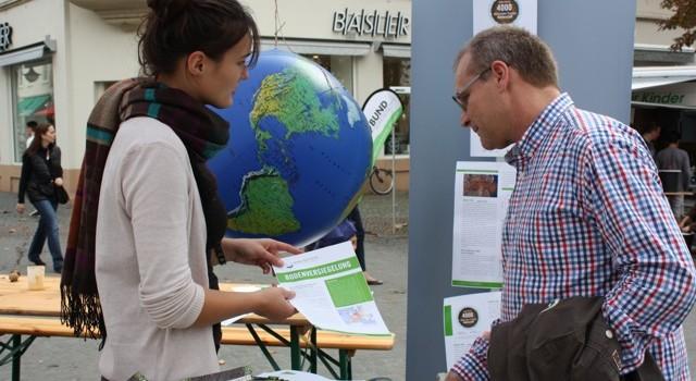 """Let's talk about soil in Saarbrücken: Lokaler Aktionstag """"Bodenlose Zukunft?"""""""