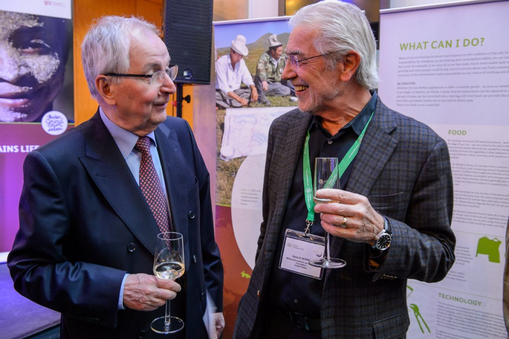Global Soil Week 2015 Reception