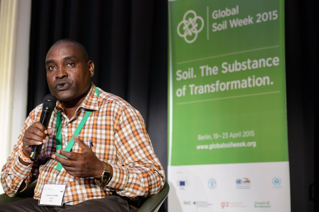 Global Soil Week 2015 Opening Plenary - Joseph Ole Simel