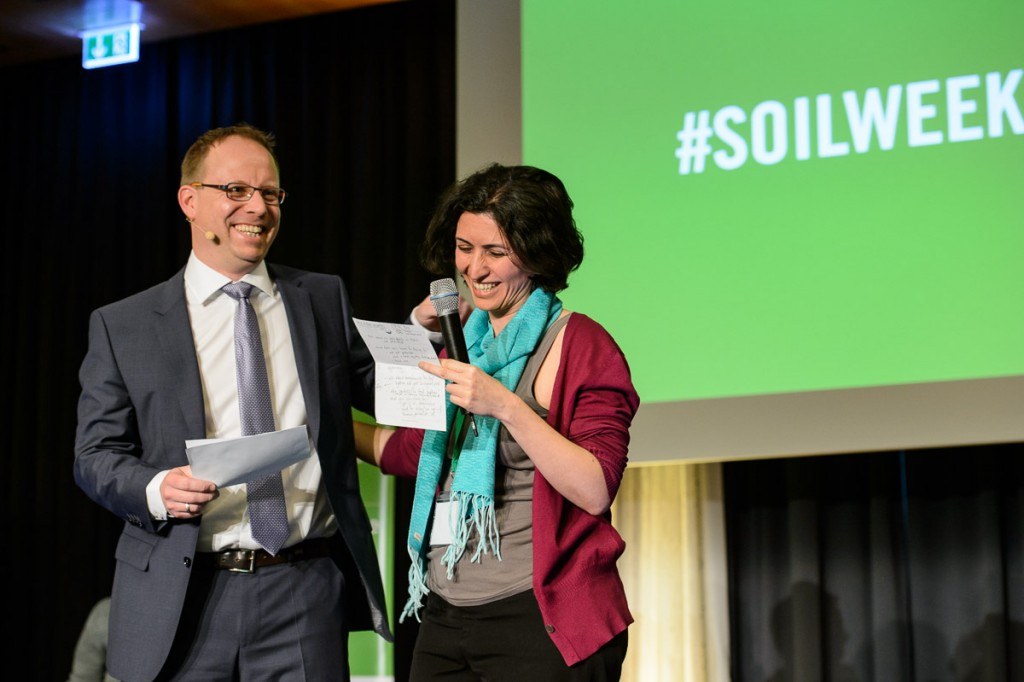 Global Soil Week 2015 Plenary - Maryam Rahmanian and Jes Weigelt
