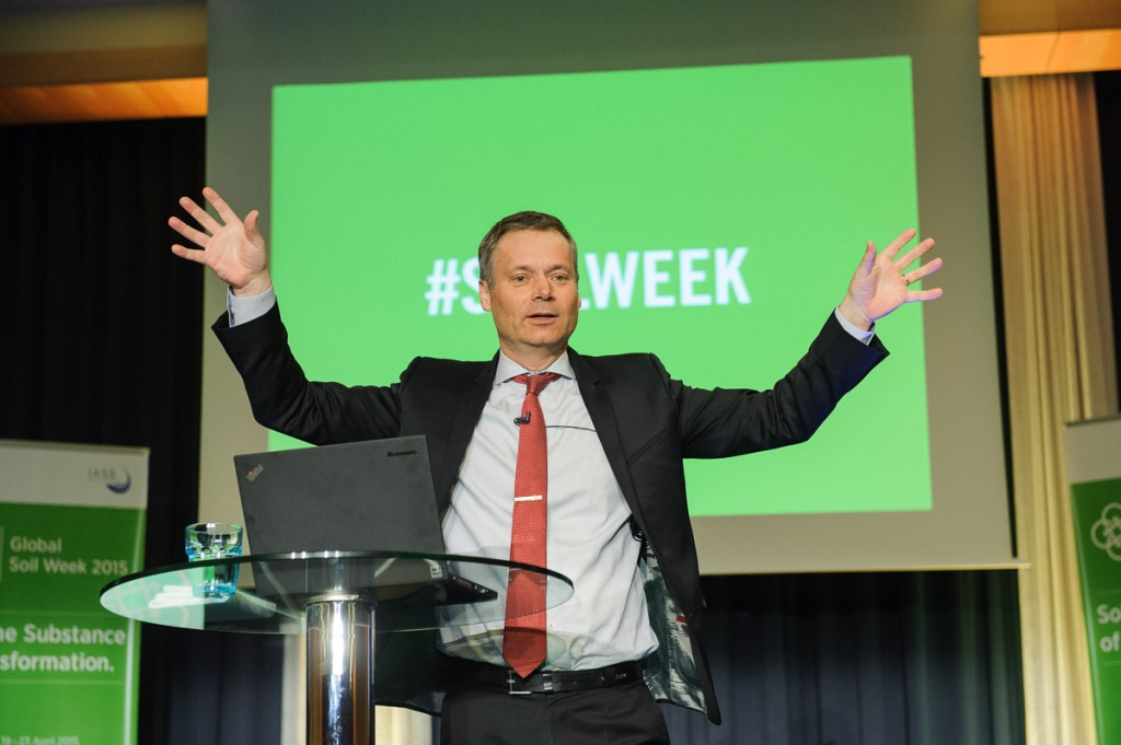 Global Soil Week 2015 Plenary - Johan Kuylenstierna