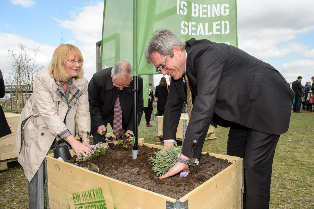 Global Soil Week 2015 One Hectare exhibition