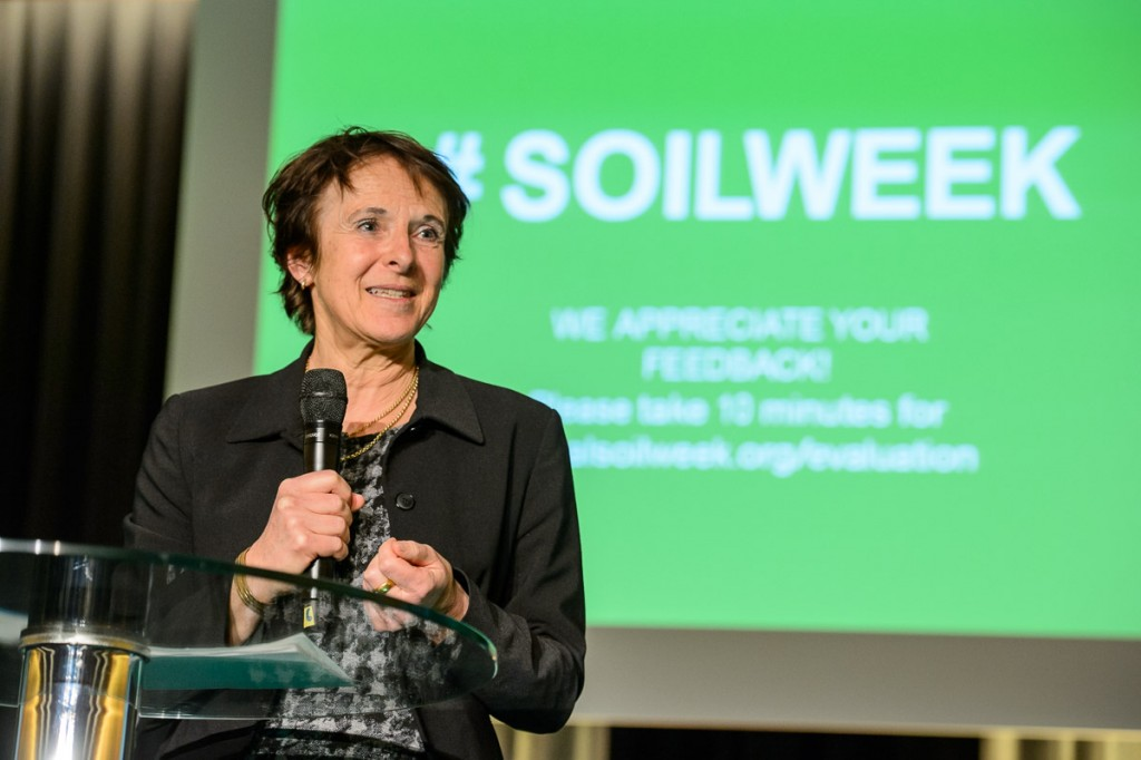 Global Soil Week 2015 Plenary - Maria Krautzberger