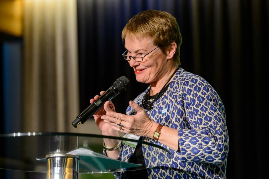 Global Soil Week 2015 Plenary - Ursula Schäfer-Preuss