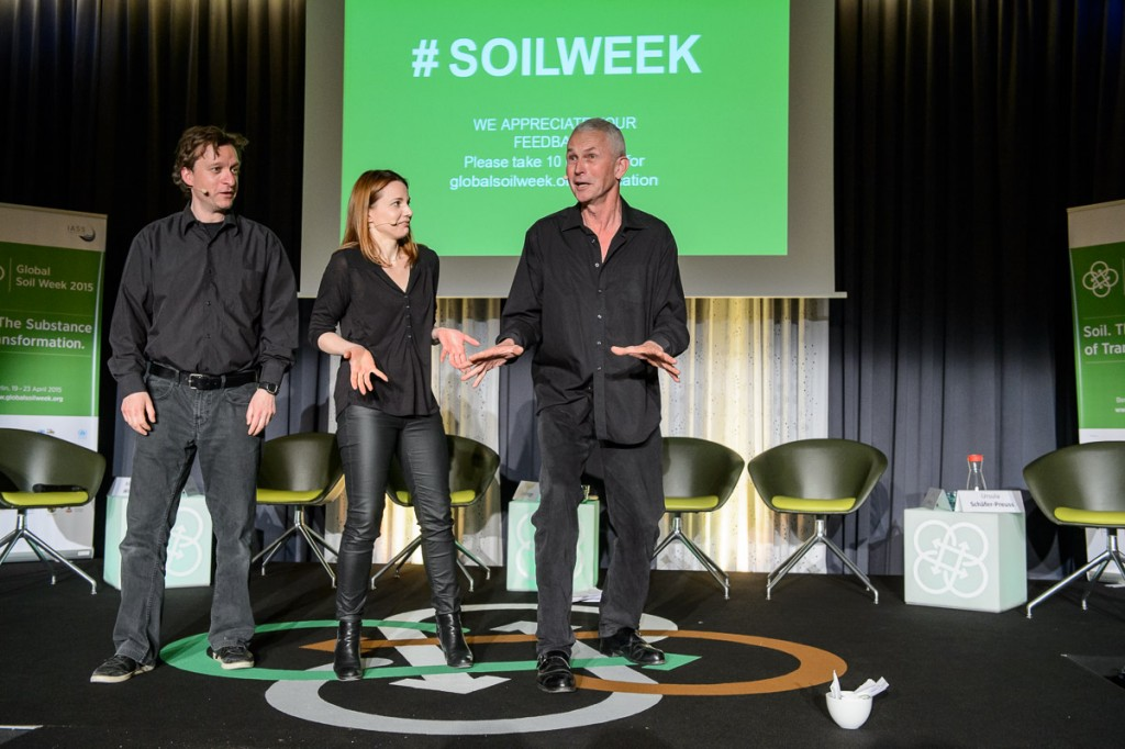 Global Soil Week 2015 Plenary - Theatersport Berlin