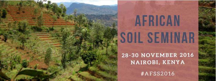 African Soil Seminar 2016: Gearing Up